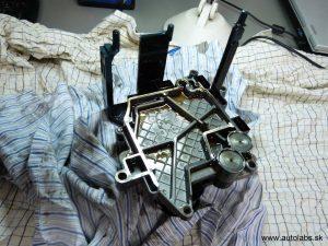 audi a4 2005 oprava riadiacej jednotky ZF automatickej prevodovky