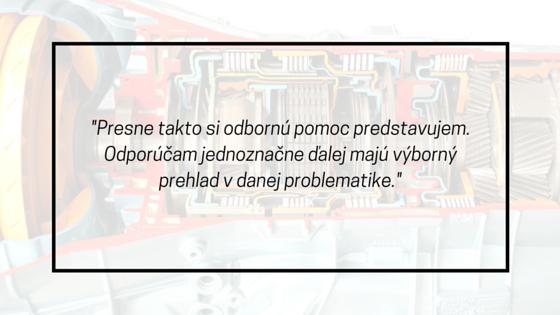 autoservis automatickych prevodoviek recenzia vseobecna